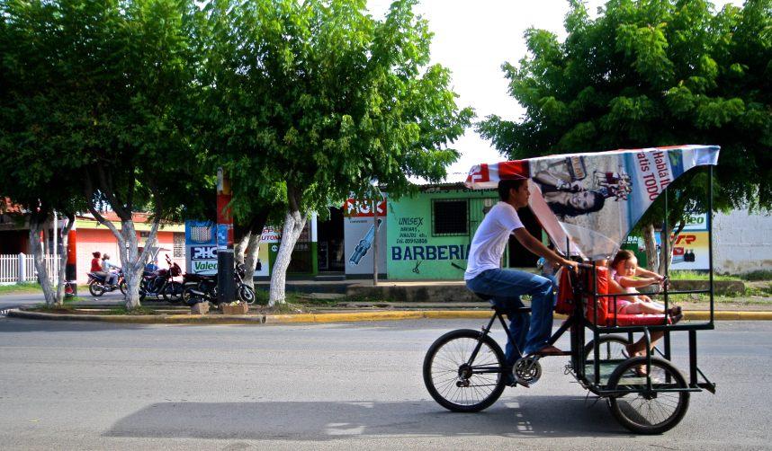 Waiting for the bus to San Juan del Sur in Rivas