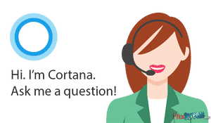 Cortana Personal Assistant