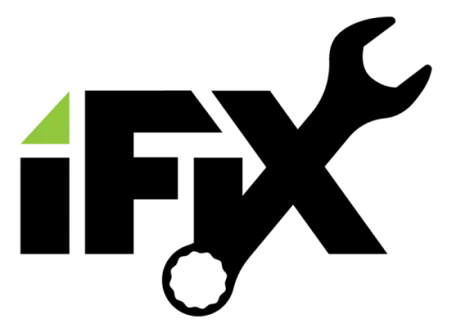 Appliance Repair Ogden iFix Logo White