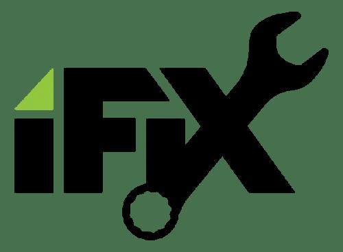 Appliance Repair Ogden iFix Logo White