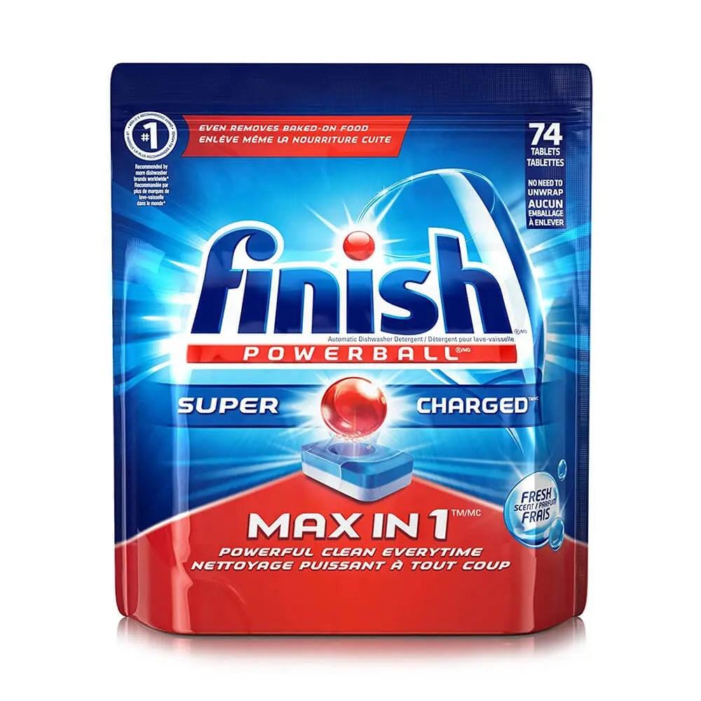 Finish Max In 1 Dishwasher Detergent