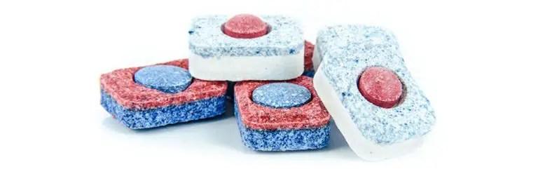 Dishwasher Detergent Capsules Stack