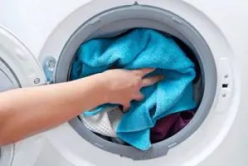 Loading front load washing machine