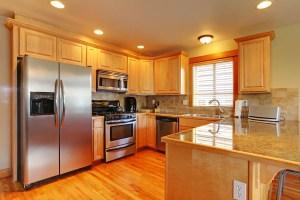 Refrigerator In Kitchen Needs Appliance Repair