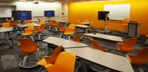 collaborative learning space at Case Western Reserve University