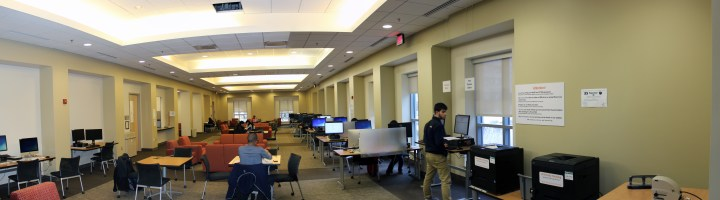 Ikenberry Hall informal collaboration space
