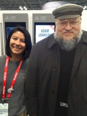 It's not the real George R.R. Martin, but it looks like it!