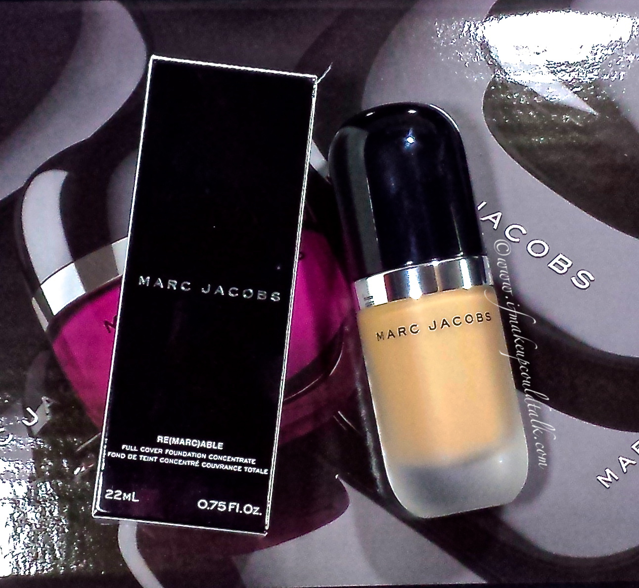 Marc Jacobs Remarcable Full Coverage Foundation Concentrate review.