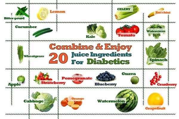 juicing ingredients for diabetics