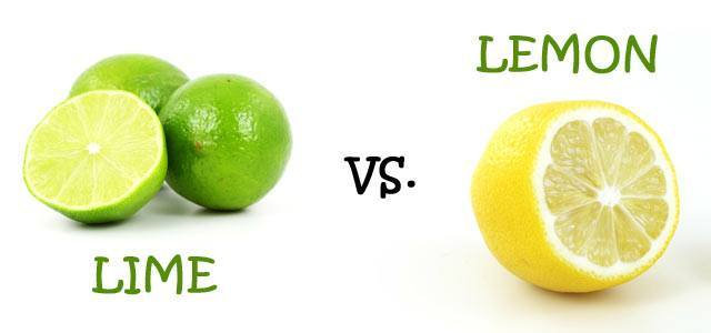 lime and lemon differences