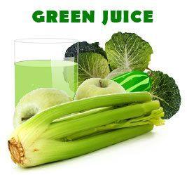 green celery juice