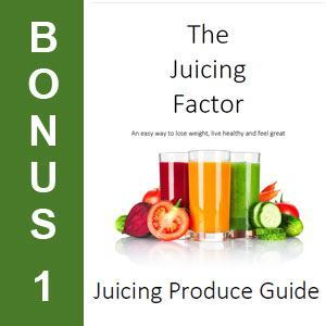 juicing factor bonus ebook