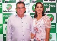 O prefeito Fróio e a primeira dama Nelci (Flórida) comemoram mais um ano de feliz união. Parabéns!