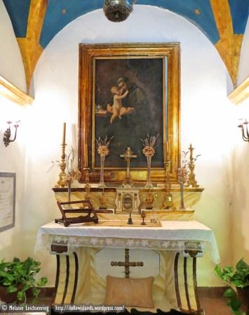 Family chapel inside