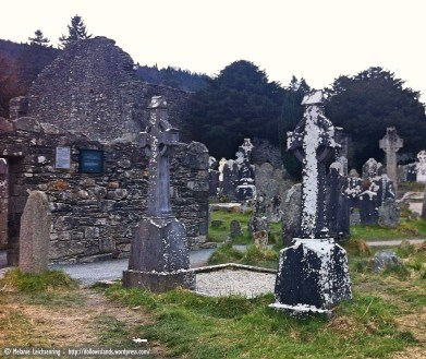 Gravestones that endured the harsh weather for centuries