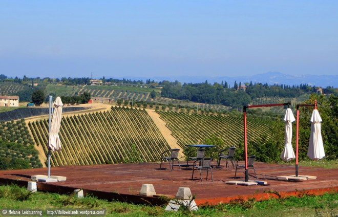 Wine tasting with a view!