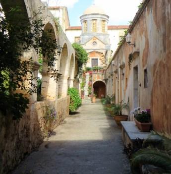 Get lost walking around the expansive courtyard