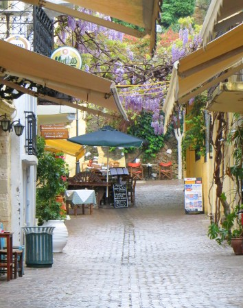 Chania's charming Old Town - better enjoyed off season otherwise you can barely walk.