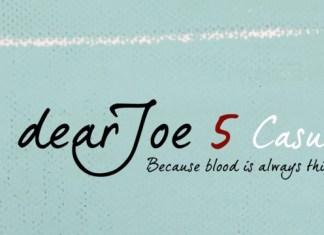DearJoe 5 Casual Font Family