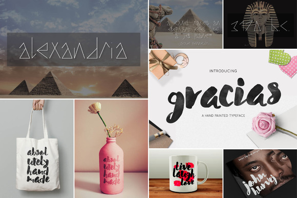 Font Graphic Bundle