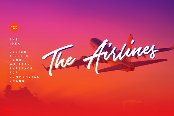 The Airlines Typeface