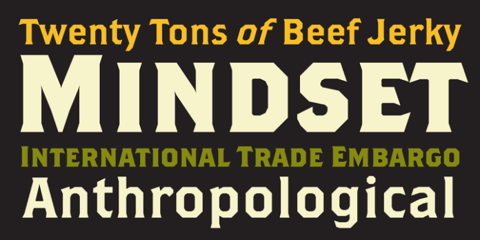 Brothers Font Family
