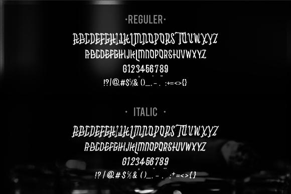 Asbak Typeface