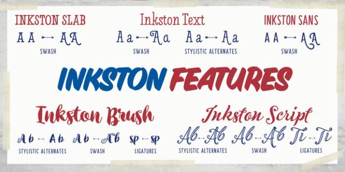 Inkston Font Family