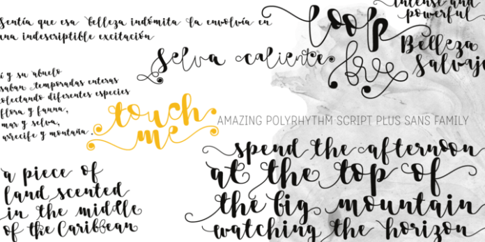 Touch Me Font Family