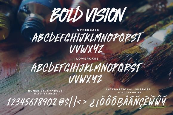 Bold Vision Font