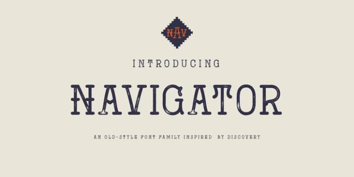 Navigator Font Family