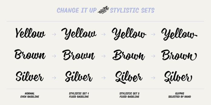 Blonde Script Font