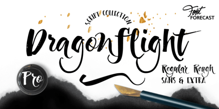 Dragonflight Pro Font Family