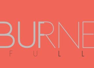 Burne weights+WEB FONT LICENSE
