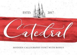 Catedral Script Font