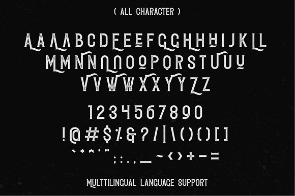 Redvolve Typeface - 6 Fonts + Extras