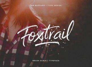 Foxtrail Script Font