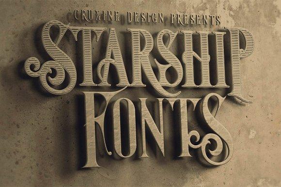 Starship Typeface