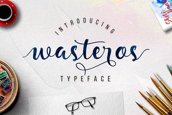 Wasteros Typeface