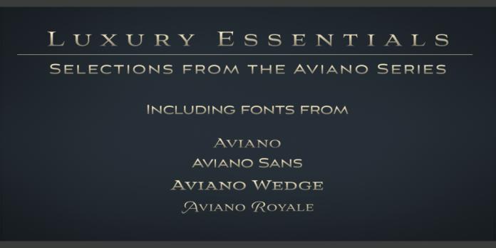 Aviano Luxury Essentials