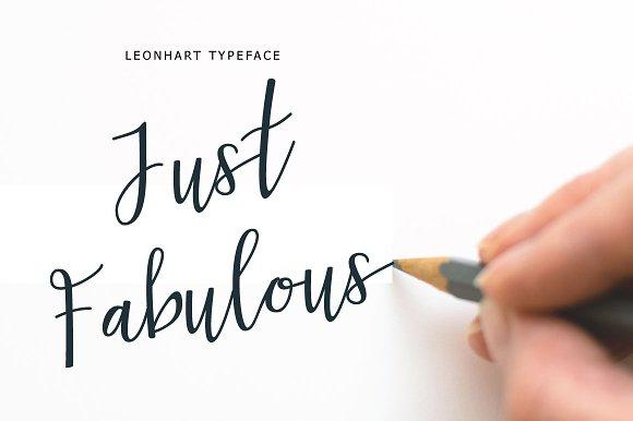 Leonhart Typeface