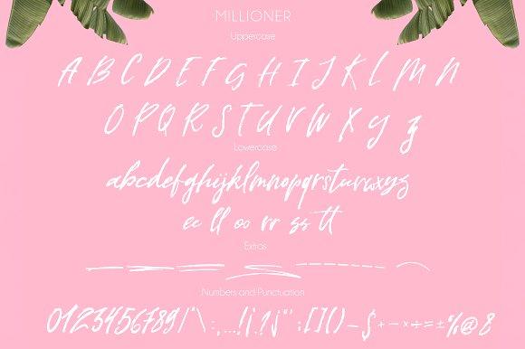 Millioner Script Font