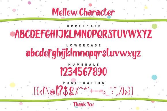 Mellow Display Font