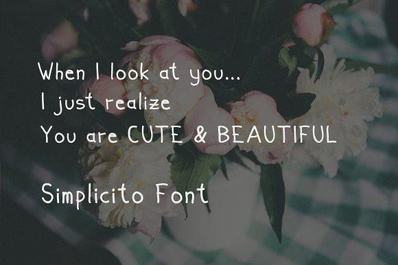 Simplicito Hand Written