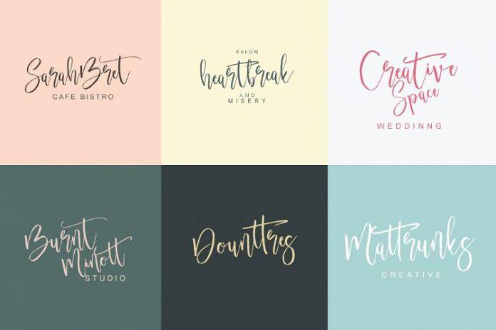 Beettrot Script Font