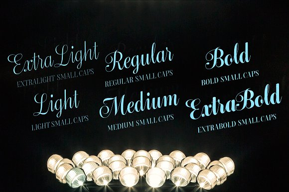 Bluebell - 6 fonts