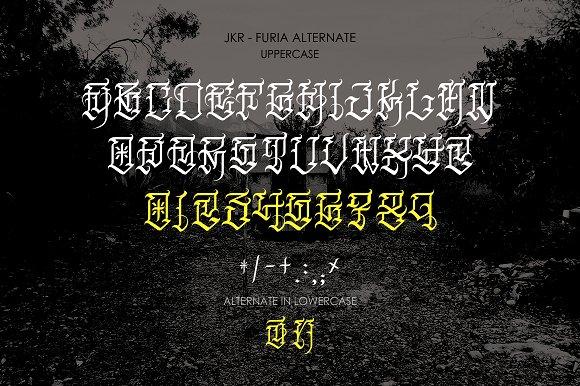 FURIA Display Font