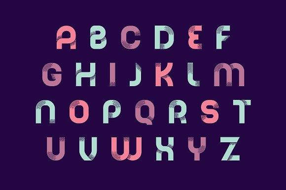 Nebula - A Liquid Style Font