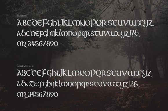 Erin - A Mystical Celtic Typeface
