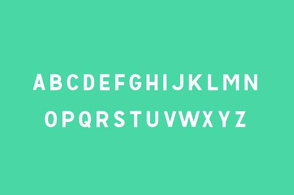 Fighter - Moder Sans Serif Font